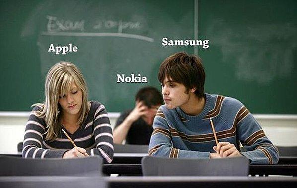 La bataille entre Apple et Samsung résumée en une image (humour)