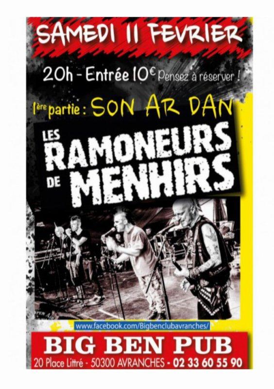 concert Son Ar Dan en 1ere partie des RAMONEURS!