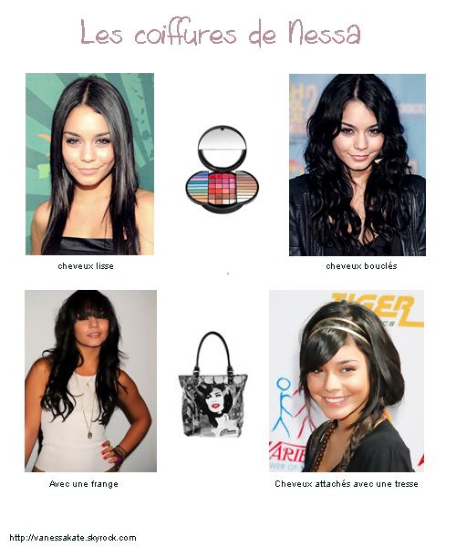 Les coiffures de Vanessa