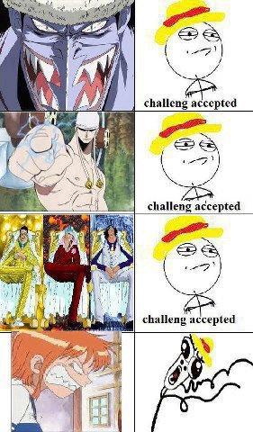 Luffy n'a peur de rien. Ou presque. ~Gag One Piece~