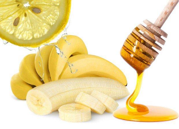 Masque banane, miel et citron contre les boutons d'acné♥♥