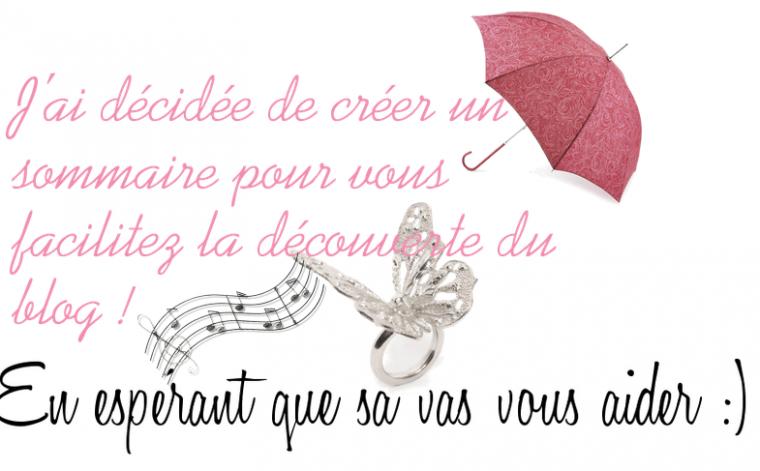 Sommaire. Blog de Djamiaa♥