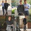 CHRISTENSEN-DAILY  ....................................... 24.11.10.................Hayden et son frère Tove dans les rues de Los Angeles CHRISTENSEN-DAILY