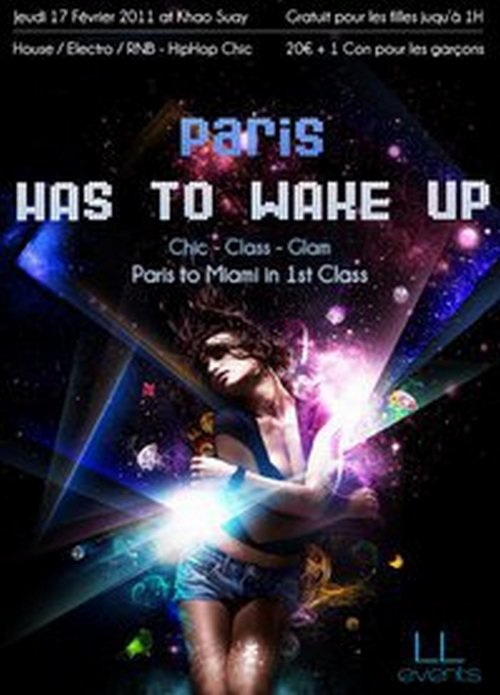 // ★ Paris ★ HAS TO WAKE UP - Paris to Miami in 1st Class //