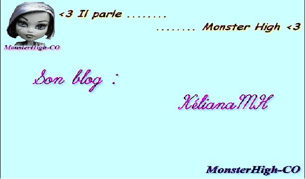 Le blog de MA petite soeur ^^