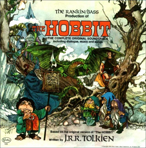 THE HOBBITBANDE-ORIGINALE DU DESSIN-ANNIME 1977
