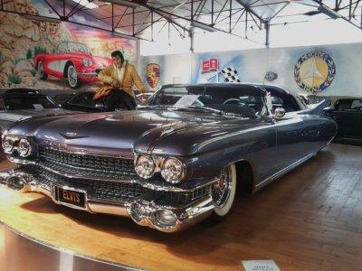Une des Cadillac d'Elvis