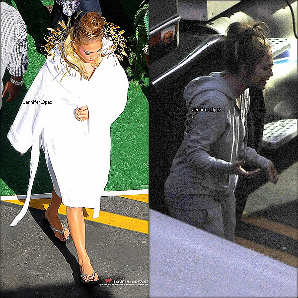 "nicolerichie 25/01 : Jennifer Lopez Arriving/Leaving ""On The Floor"" Video Set   nicolerichie  Jennifer arrivant et quittant le tournage du clip ""On The Floor"", ses enfants Max & Emme sont venue lui rendre visite. nicolerichie"