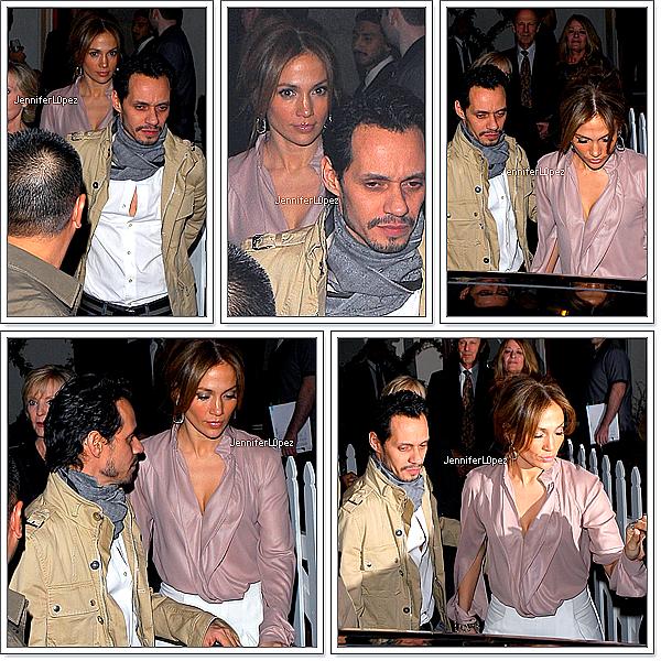 nicolerichie 28/01 :Jennifer Lopez & Marc Anthony: Dining with the Stars   nicolerichie  Jennifer et son mari Marc ont étaient aperçue à Brentwood (Cali) après avoir dîner chez des amis. nicolerichie