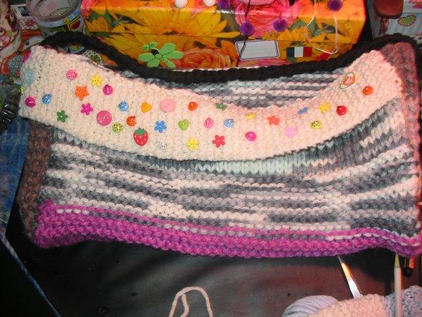 un sac en laine pour y ranger ses laines