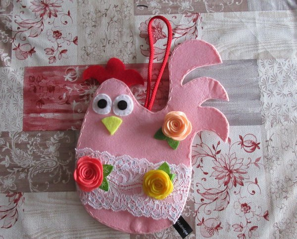 Dans le ROSE et les cochon(ne)s... et la poule