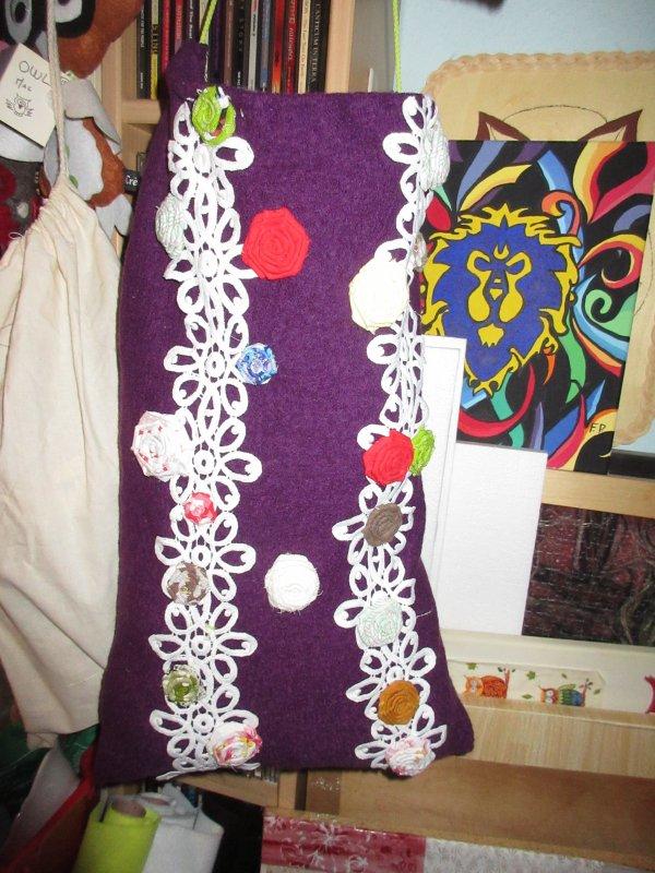 Création de sacs pour rangement pelotes de laine
