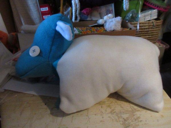 mon 1er coussin hippo