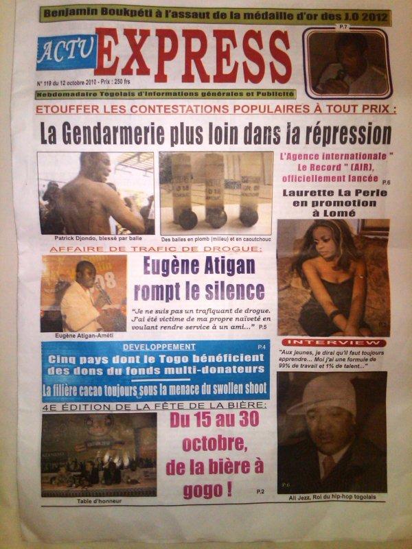 Laurette la Perle : en tournée promo à Lomé