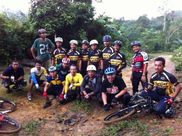 *With Kayoh Bike Club