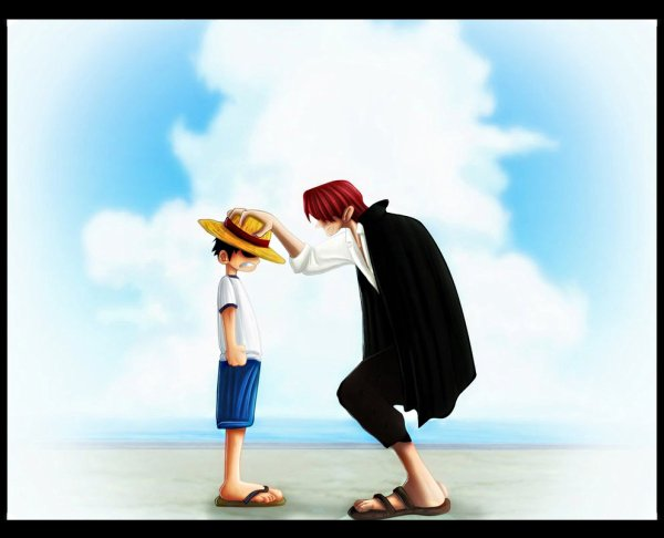 Quand luffy rencontre shanks