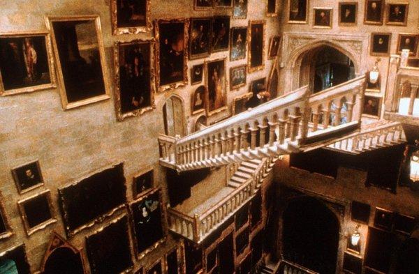 Les escaliers de Poudlard