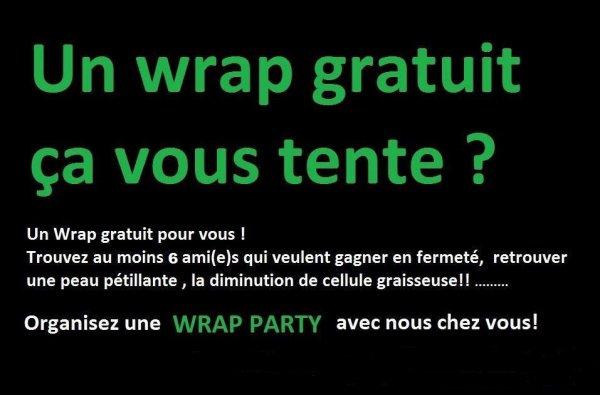 UN WRAP GRATUIT ORGANISEZ UNE WRAP PARTY