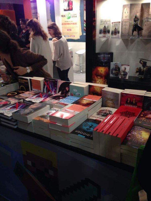 Presentation salon du livre de Montreuil