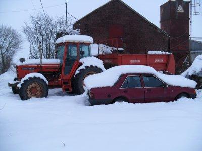 Un peu de neige en avesnois! sa donne sa!!!!