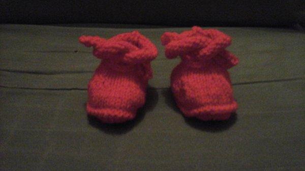 Une paire de chaussons