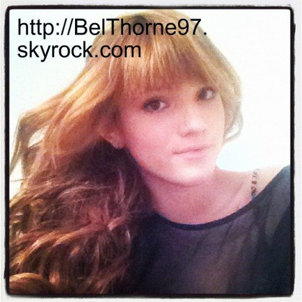 Nouvelle photo TWITTER de Bella. KIFFE pour être prévenue!