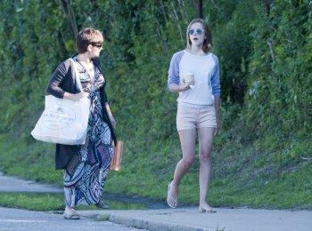 31 Juillet , Emma ce baladant avec sa mère .