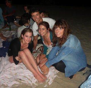 Emma a la plage le 30 Juillet