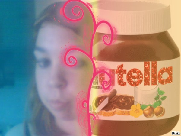 Le nutella la plus grande gourmandise!!! Miiam!!!!Miiam!!!!