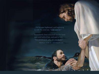 tu est notre sauveur