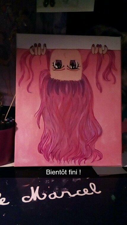 Nouveau dessin sur toile!