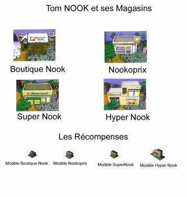 Tom nook et ses magasins points fid lit animal for Extension maison animal crossing wild world