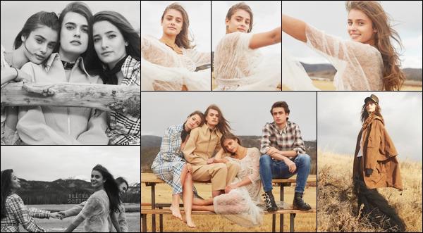« V MAGAZINE »─ Tay Hill pose pour le magazine avec son frère et de ses soeurs !