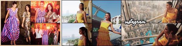 22/11/17:En tant qu'égérie,Taylor s'est rendue a la fête organsié par la marque Carolina herrera à Dubai.  Découvrez par la même occasion, les photos posté par Taylor lors de son séjour sur instagram! Elle est sublime dans sa robe! ─ TOP!