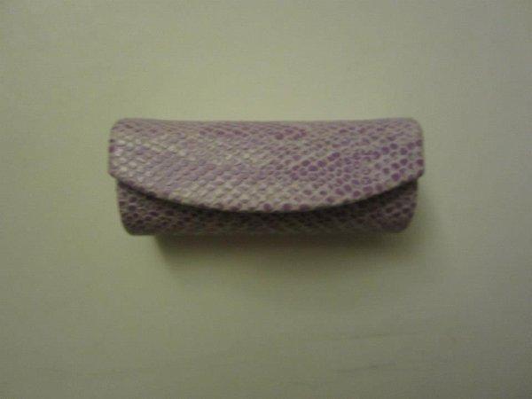 """Boîte """" écailles """" violette"""