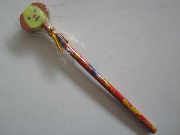 """Crayon de papier enfants """" Kawai """" ( avec gomme )"""