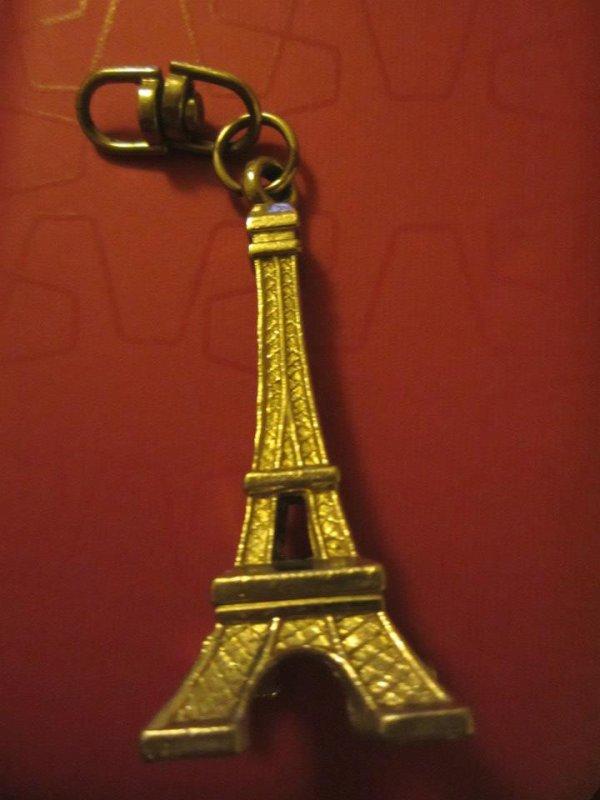 """Porte-clés """" Tour Eiffel """""""