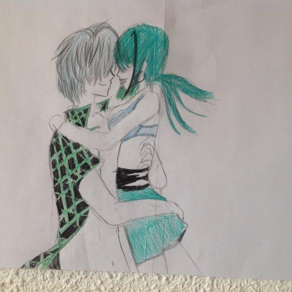 Mon nouveau dessin de couple