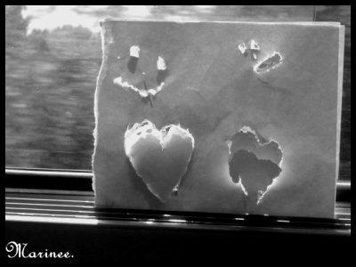 On parle d'amour quand on souffre ; le manque, l'absence, l'attente attisent la souffrance et on appelle ça de l'amour.