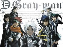 présentation du manga d-gray man