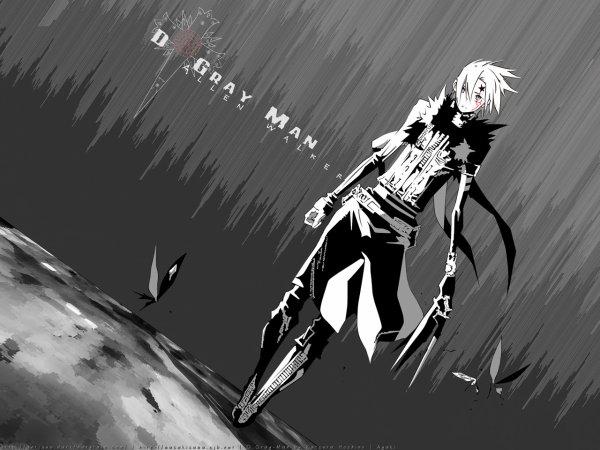 présentation personnage DGM 1 : Allen walker