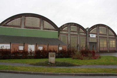 Ateliers des Mines de Lens à Wingles 62.