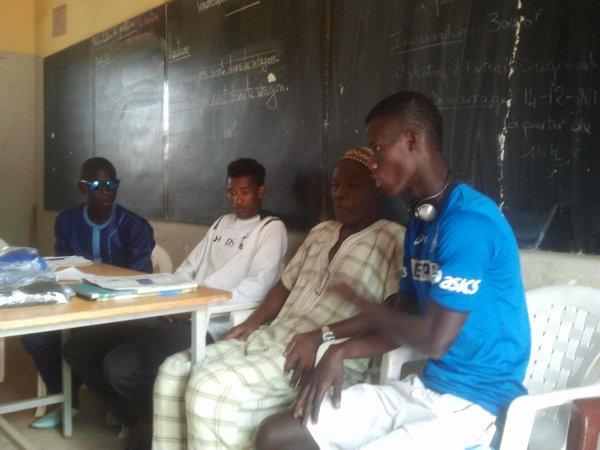 Momo diouf, Omar Diané, Cheikh et Pape Gueye