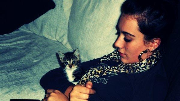 Mon chat ; Je l`aime !