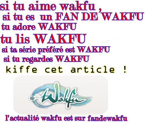 tu aime WAKFU ? KIFFE CET ARTICLE !