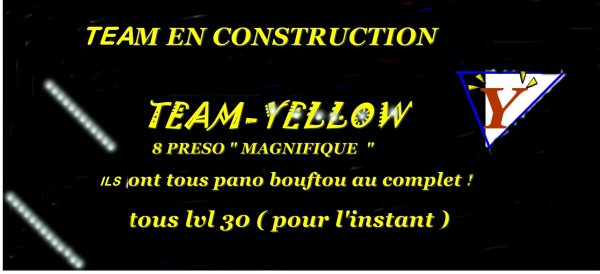 team-yellow  ma team a moi