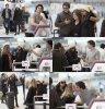 Nina Dobrev et Ian Somerhalder à l'aéroport de Toronto