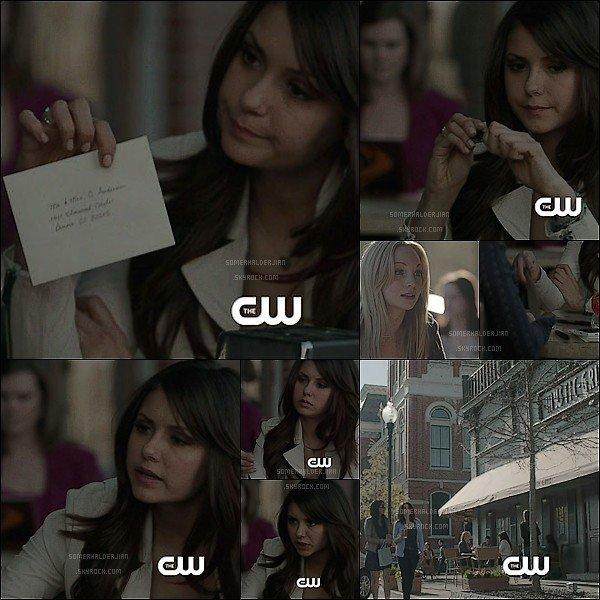 . Découvrez des photos provenant du Webclip du nouvel épisode de Vampire Diaries. .