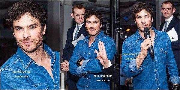 . Ian et Nina ont réalisé un photoshot pour Penshoppe Magazine. Ils sont tellement beaux tout les deux.+ Découvrez quelques photos de Ian S. à la convention de Moscou et lors d'un dîner d'honneur tout ça, le 27 Mai 2013. .