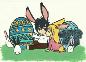 Grey et Lucy à Pâques